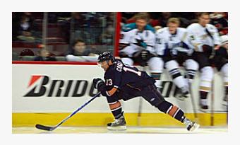A great hockey skater