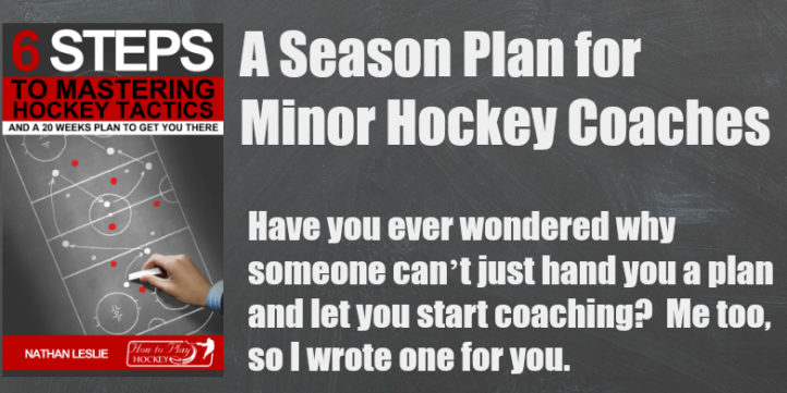 A season plan for minor hockey coaches