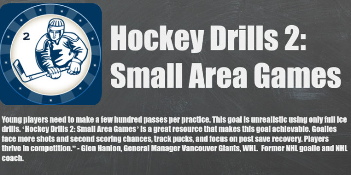 hockey drills 2 small area games banner 2