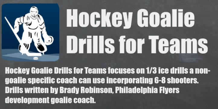 hockey goalie drills for teams banner